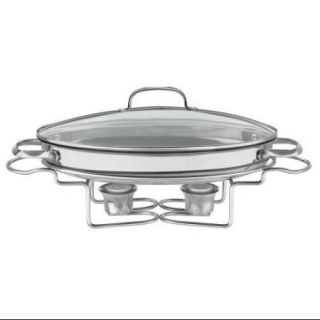 """Cuisinart 7BSO 34 Stainless 13.5"""" Oval Buffet Servers"""