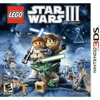 Lego Star Wars 3 Clone Wars (Nintendo 3DS)