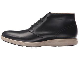 Cole Haan Grand Tour Chukka Black Leather/Cobblestone