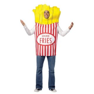 Adult French Fries Costume   One Size Fits Most
