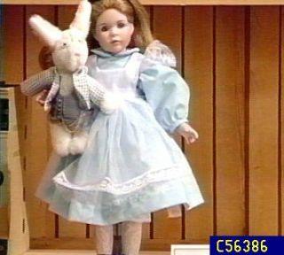 Alice in Wonderland 14 Porcelain Doll by Wendy Lawton —