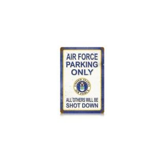 Past Time Signs V561 Air Force Parking Allied Military Vintage Metal Sign