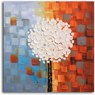 Omax Decor Make a Wish Oil Painting on Canvas