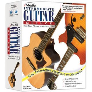 eMedia Music CD ROM: Intermediate Guitar Method EG10112