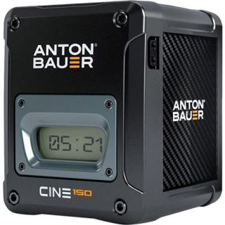 Anton Bauer CINE 150 14.4V 150Wh Gold Mount Lithium Ion Battery 8675 0104