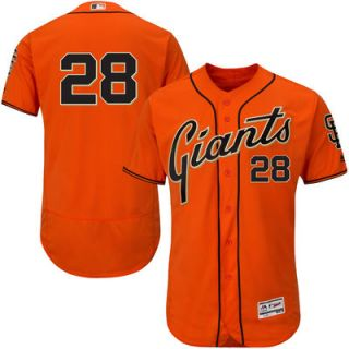 Buster Posey San Francisco Giants Majestic Alternate Flex Base Authentic Collection Player Jersey   Orange