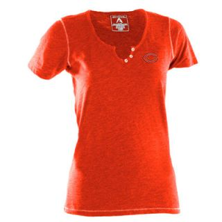 Antigua Chicago Bears Womens Spry V Neck T Shirt