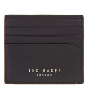 TED BAKER   Contrast edge leather card holder