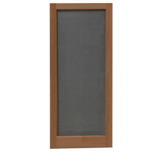 Screen Tight Meadow Russet Wood Screen Door (Common: 32 in x 80 in; Actual: 32 in x 80 in)