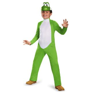 Boy's Super Mario Bros: Yoshi Deluxe Halloween Costume   Child Size    Buyseasons