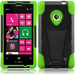 INSTEN High Impact Dual Layer Hybrid Phone Case Cover for Nokia Lumia