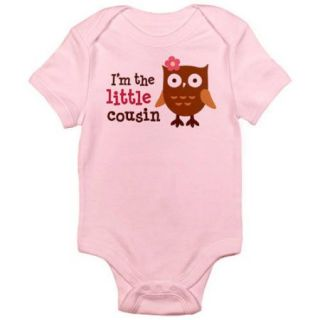 CafePress Baby Little Cousin Newborn Baby Bodysuit