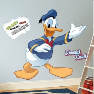 Mickey and Friends   Donald Duck Peel and Stick Giant Wall Decal