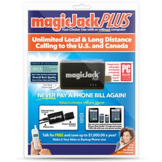 MagicJack PLUS VoIP Phone Adapter