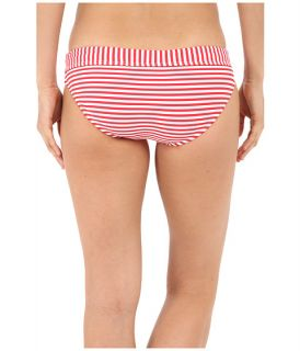 Seafolly Riviera Coast Stripe Banded Hipster Bottoms Chilli Red