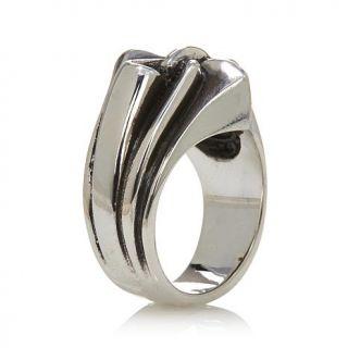 King Baby Jewelry Sterling Silver Fleur de Lis Ring   7821523