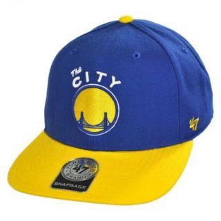 47 Brand Golden State Warriors NBA Sure Shot Snapback Baseball Cap SIZE: ADJ