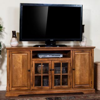 Sunny Designs 3474RB 64 Sedona 64 TV Console in Rustic Birch