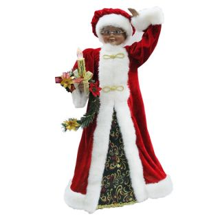 Holiday Living Animated Mrs. Claus Figurine