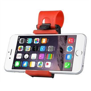 Insten Universal Car Steering Wheel Clip Mount Holder Cradle Stand for