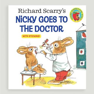 Richard Scarrys Nicky Goes to the Doctor