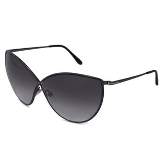Tom Ford Womens Gunmetal TF0251 Evelyn Cat Eye Sunglasses