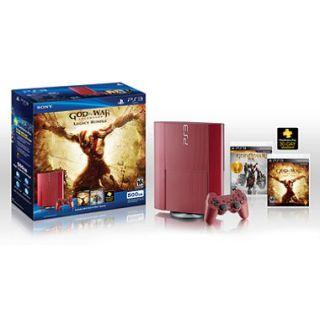 Playstation 3 500GB   God of War Bundle
