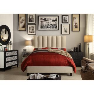 Mulhouse Furniture Isabel Queen Upholstered Platform Bed