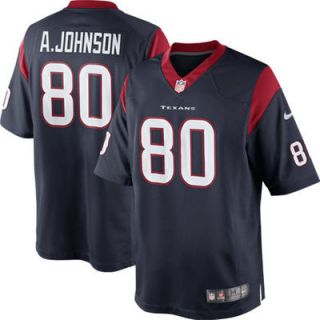 Andre Johnson Houston Texans Nike Team Color Limited Jersey   Navy Blue
