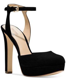 MICHAEL Michael Kors Trish Platform Ankle Strap Pumps   Pumps   Shoes