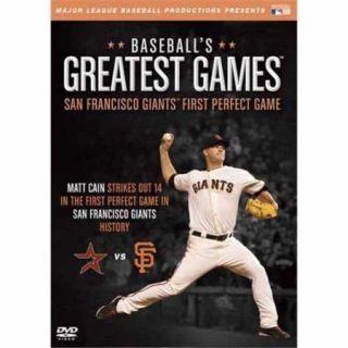 Team Marketing WW TM4132 San Francisco Giants First Perfect Game DVD