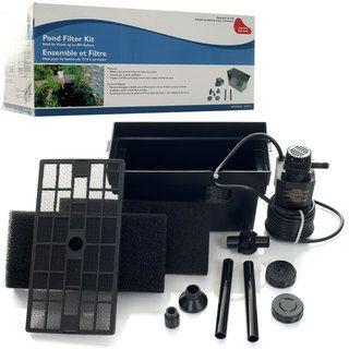 Beckett Small Underground 400 gallon Pond Pump Filter Kit