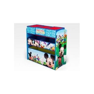 Delta Children Disney Mickey Mouse Toy Organizer