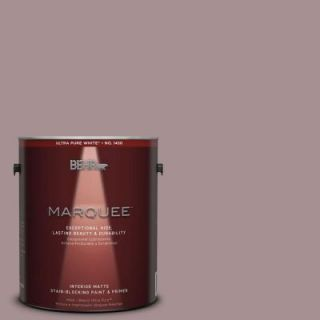 BEHR MARQUEE 1 gal. #MQ1 40 Tribeca One Coat Hide Matte Interior Paint 145401