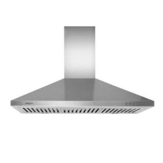 Cosmo 36 in. Convertible Wall Mount Range Hood in Stainless Steel 63190