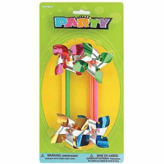Pinwheel Party Favors, 4 Count
