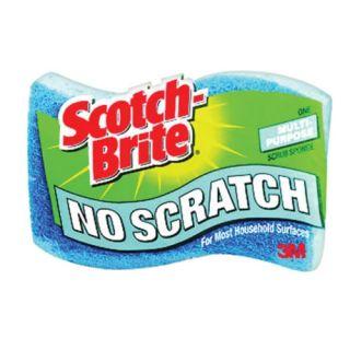 Scotch Brite No Scratch Scrub Sponge (521)   Scouring Pads