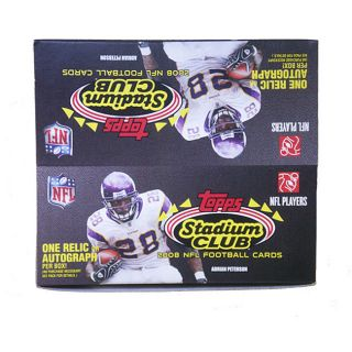 Topps Stadium Club 2008 NFL Trading Cards (24 Packs)