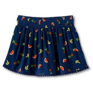 Girls Fruit Print Skirt