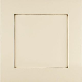 American Woodmark 14 9/16x14 1/2 in. Cabinet Door Sample in Reading Maple Hazelnut Glaze DISCONTINUED 99830
