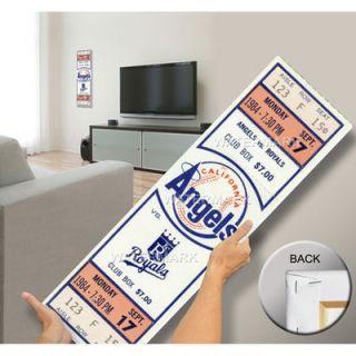 Reggie Jackson 500 Home Run Mega Ticket   Anaheim Angels
