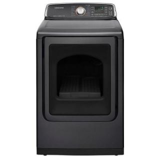 Samsung 7.4 cu. ft. Electric Dryer with Steam in Platinum, ENERGY STAR DV52J8700EP