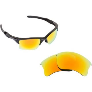 SEEK Polarized Replacement Lenses for Oakley HALF JACKET 2.0 XL Yellow Mirror