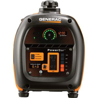 Generac iQ2000 Portable Inverter Generator — 2000 Surge Watts, 1600 Rated Watts, Model# 6866  Inverter Generators