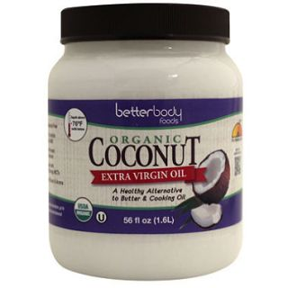 BetterBody Foods Organic Extra Virgin Coconut Oil (56 oz.)