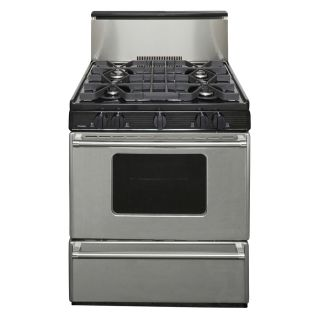 Premier Freestanding 3.9 cu ft Gas Range (Stainless Steel) (Common: 30; Actual: 30 in)