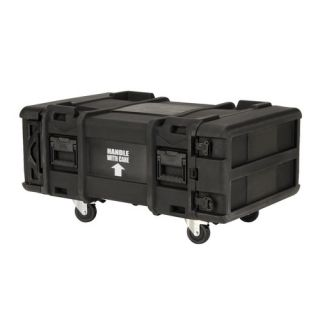 30 Deep 4U Roto Shock Rack in Black