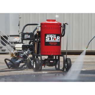 NorthStar Pressure Washer Heater/Steamer Add-on Unit — 4000 PSI, 4 GPM, 120 Volt  Electric Hot Water Pressure Washers