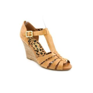 Jessica Simpson Womens Rebi Leather Sandals (Size 8.5 )