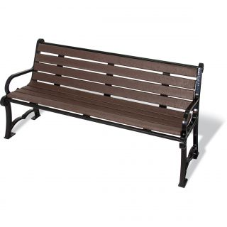 UltraSite Charleston Series Recycled Plastic Bench by Ultra Play
